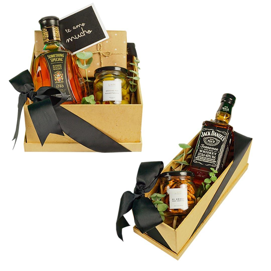 Box Something special mini + Box Jack Daniels Mini