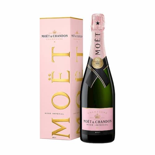 Champagne MOET & CHANDON Rosé Imperial Botella 750ml