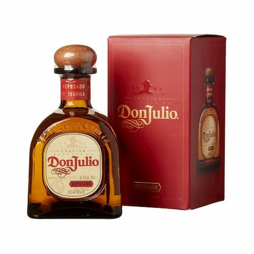 Tequila DON JULIO Reposado Botella 750ml