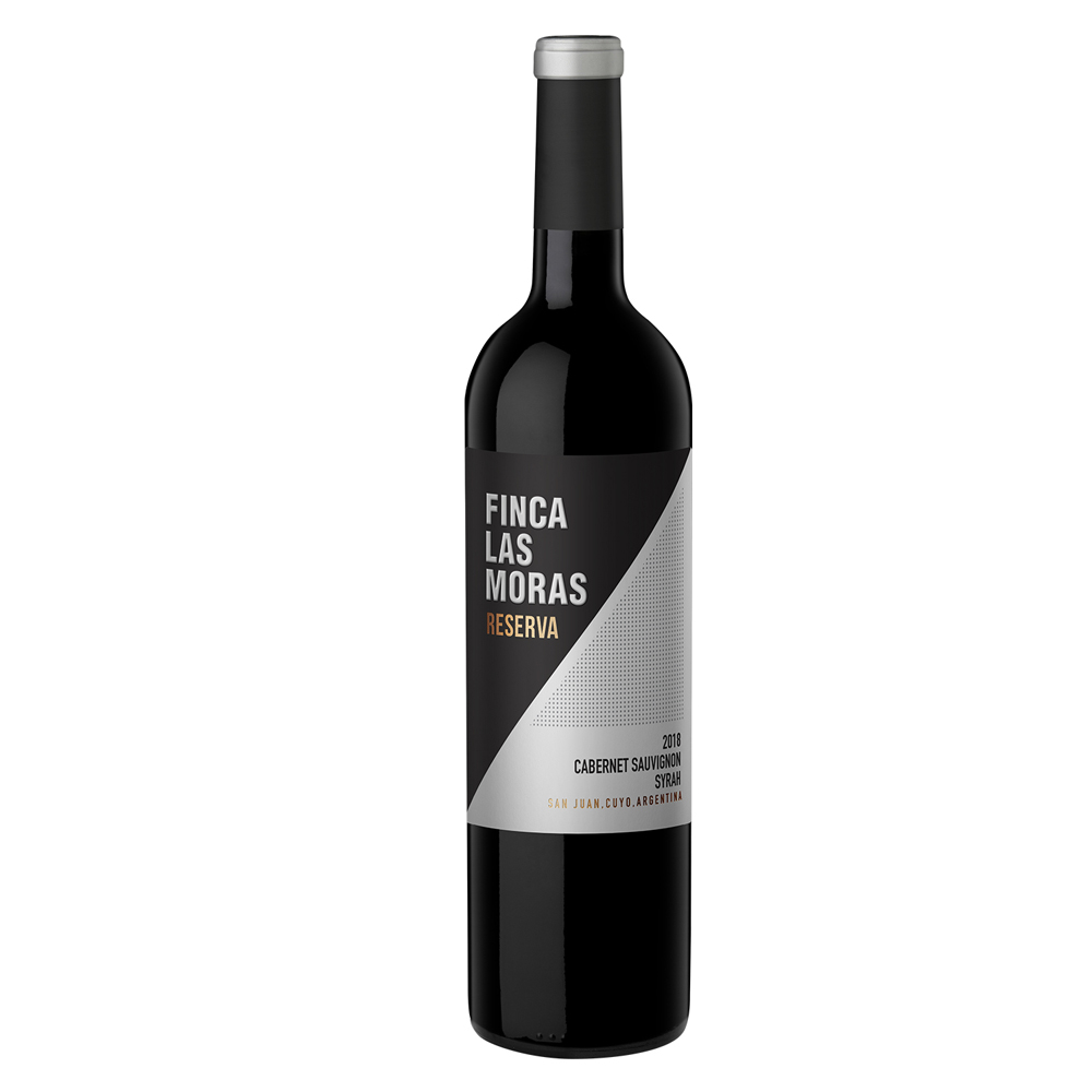 Vino FINCA LAS MORAS Reserva Cabernet Sauvignon/Syrah Botella 750ml