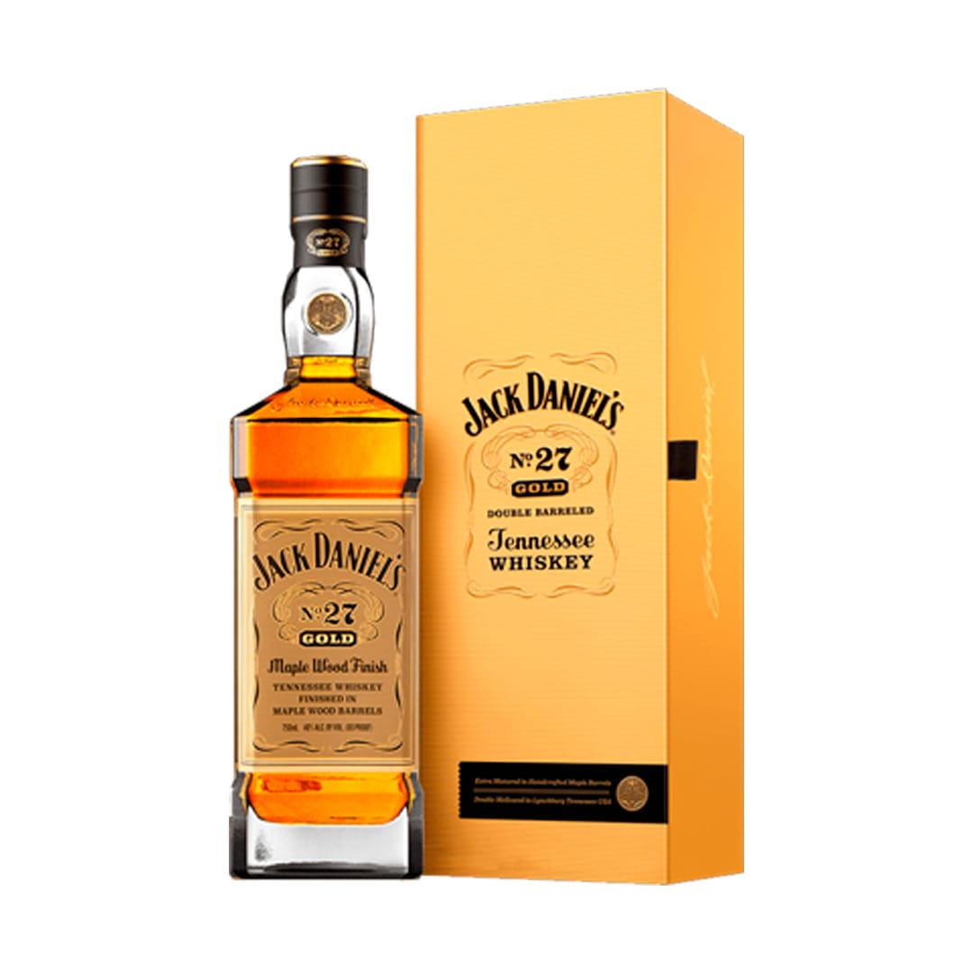 Whisky JACK DANIELS Gold Nº27 Maple Wood Finish Whisky Botella 750ml