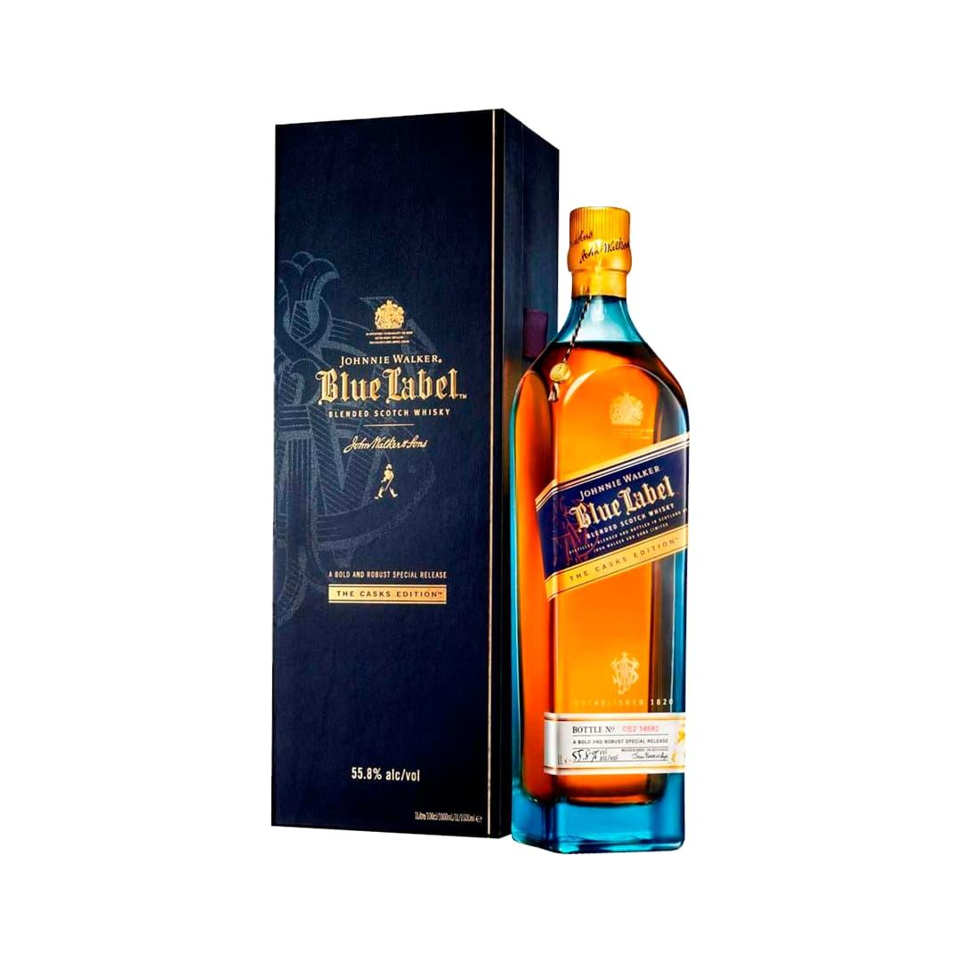 Whisky JOHNNIE WALKER Blue Label Botella 1L